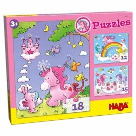 Puzzle Unicorn Glitterluck Multipack