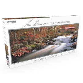 Puzzle Panoramic Wistful Waters #504
