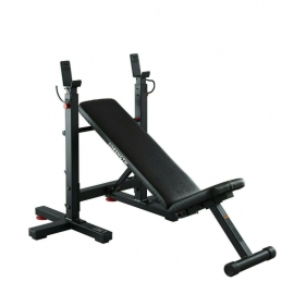 Collapsible Press Incline & Flat Weight Bench