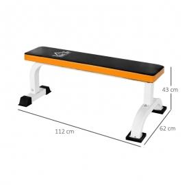 Barbell Flat Fitness Bench Press Dumbbell