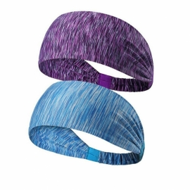 Ladies Elastic Wide Headband Sports