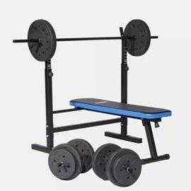 Pro Fitness Folding Bench Strength Trainer